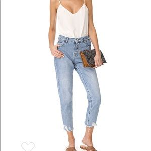 LIKE NEW DL1961 Goldee High Rise Tapered Jeans,